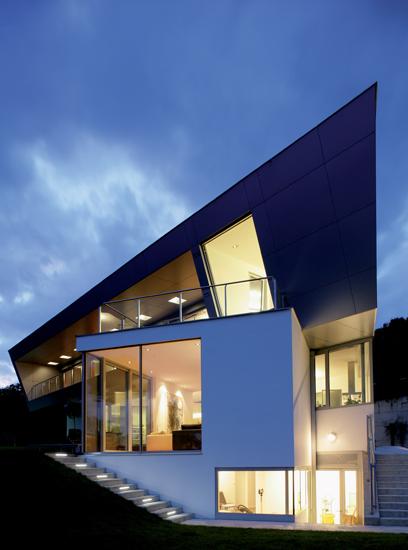 Bildanzeige einfamilienhaus in graz architekt michael for Architekt einfamilienhaus