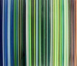 Farbspektrum von Musterbeschichtungen, © www.alufenster.at | Nicole Heiling