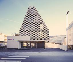 Vierländer Bank (BTV) Mitterweg, Innsbruck . Architekt Rainer Köberl, © www.alufenster.at | Lukas Schaller